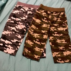 Toddler Camouflage Pants size 18 mos